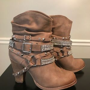 Not Rated Bling Booties